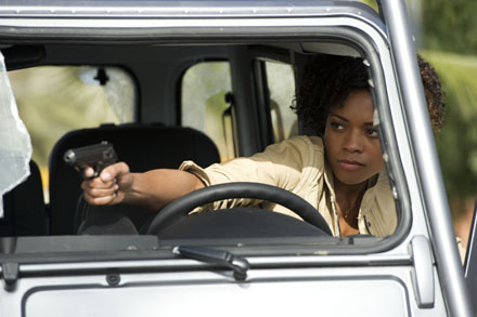 Skyfall Naomie Harris Land Rover at The Hospital Club