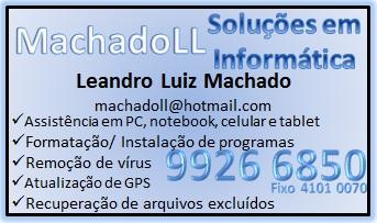 Professor/ Técnico Montagem/ Manutenção de Computador/ Notebook - (45) Tim 99266850/ Fixo 41010070