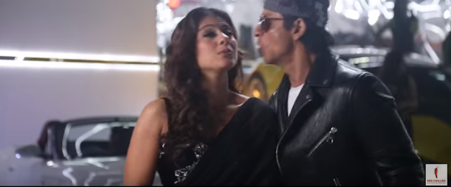 During the shooting of 'Dilwale' Shah Rukh Khan almost kissed Kajol on lips, shows a behind-the-scenes video released by the filmmakers.     The adorable incident, which left both the stars blushing, occurred during the shooting of the song 'Tukur Tukur'.