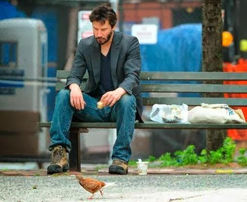 A vida trágica/heróica de Keanu Reeves