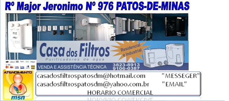 Casa-dos-Filtros-Purifiadores de Agua Patos de Minas MG