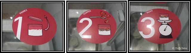 Chacun ses Goûts, rue de l'Angevin Paris 4 frozen yogurt