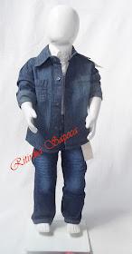 Conjunto Jeans Sport Fino menino