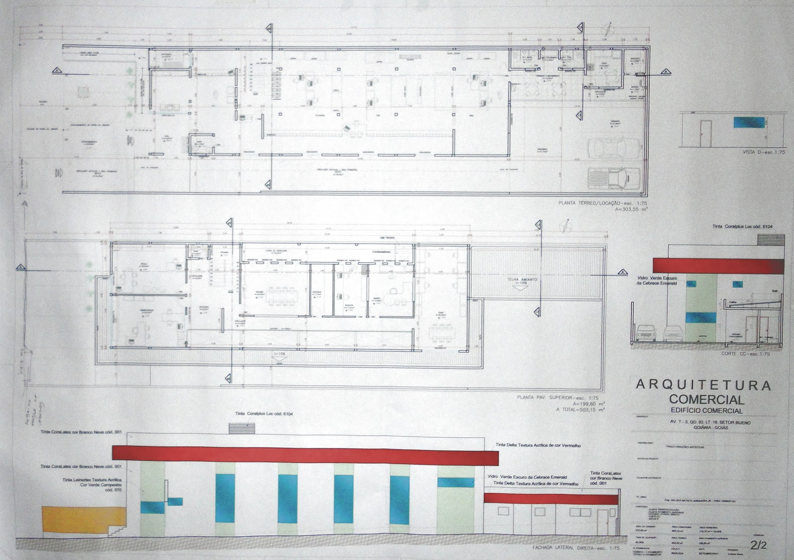 Urbanismo: Projeto Executivo de uma Arquitetura Comercial #31809A 1600 1129