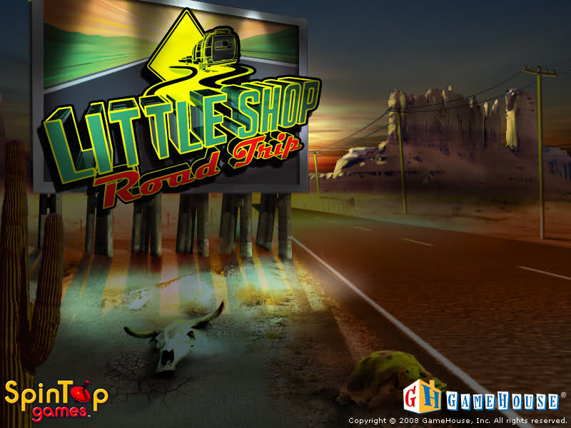 Get Free Download GameHouse Little Shop Road Trip Install exe