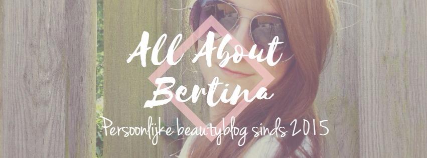 www.allaboutbertina.nl - beautyblog