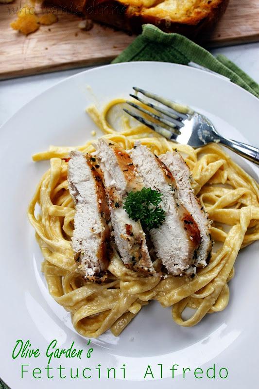 Who Wants Dinner Olive Garden 39 S Fettucini Alfredo