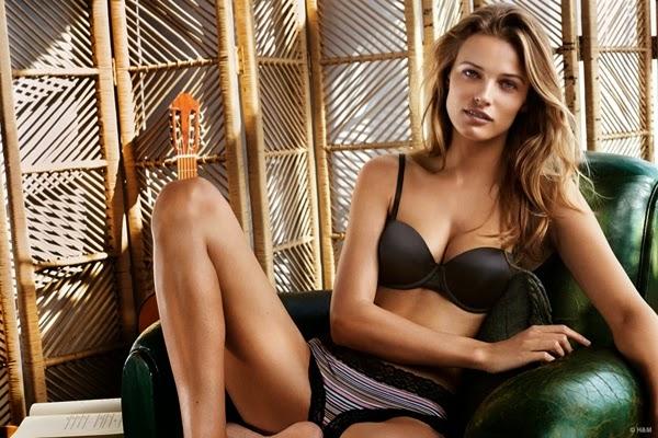 lencería H&M primavera verano 2015