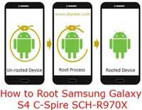 How to root Samsung galaxy S4  C-Spire SCH-R970X