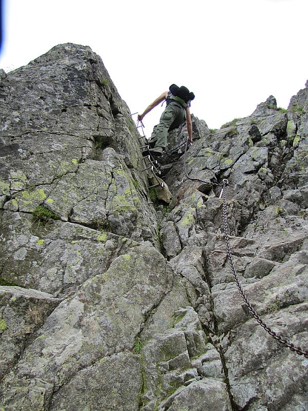 Północna ściana Zamarłej Turni.