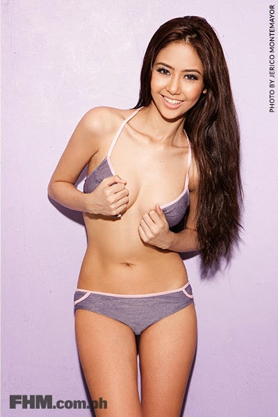 Nicole Alexandria FHM Hot Babes January 2014