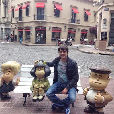 Mafalda en San Telmo