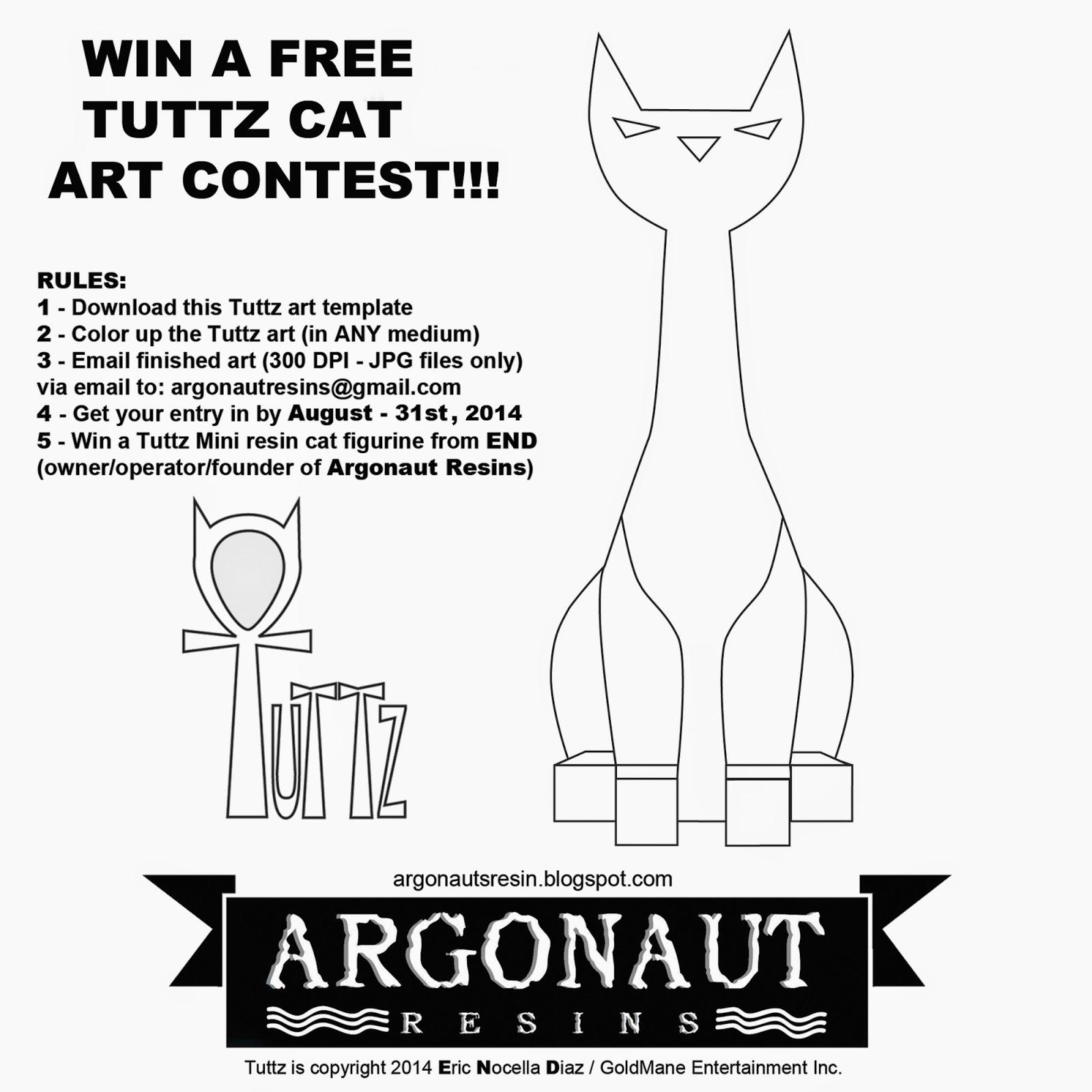 Argonauts resin win a free tuttz mini art contest pronofoot35fo Images