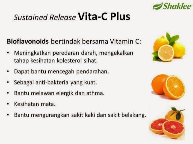 Fungsi bioflavonoids dalam vita C