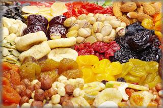 Как сушить плоды и ягоды