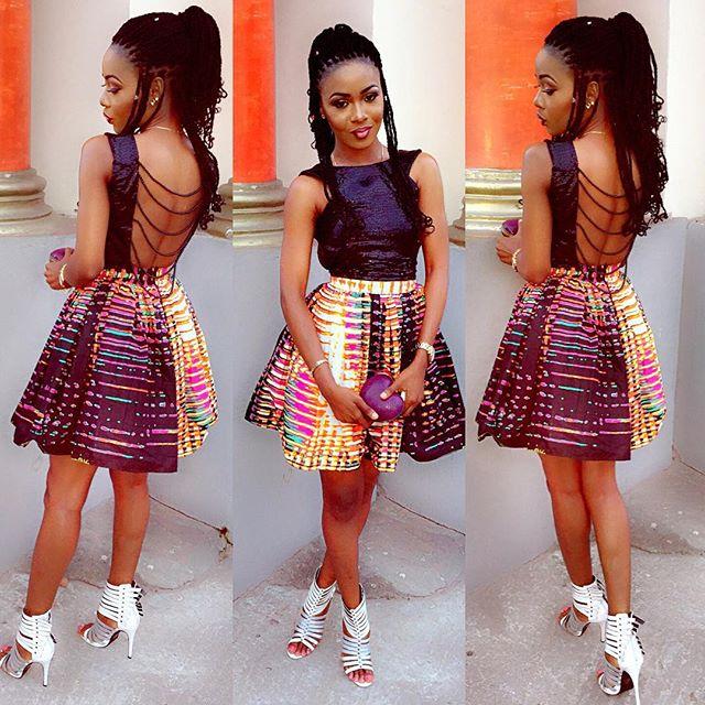 Ankara Styles for Short Gowns for Smart Ladies - DeZango Fashion Zone