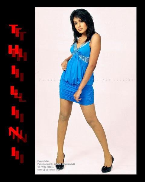 Thilini Amarasooriya blue