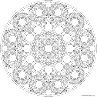 Etruscan Inspired Mandala
