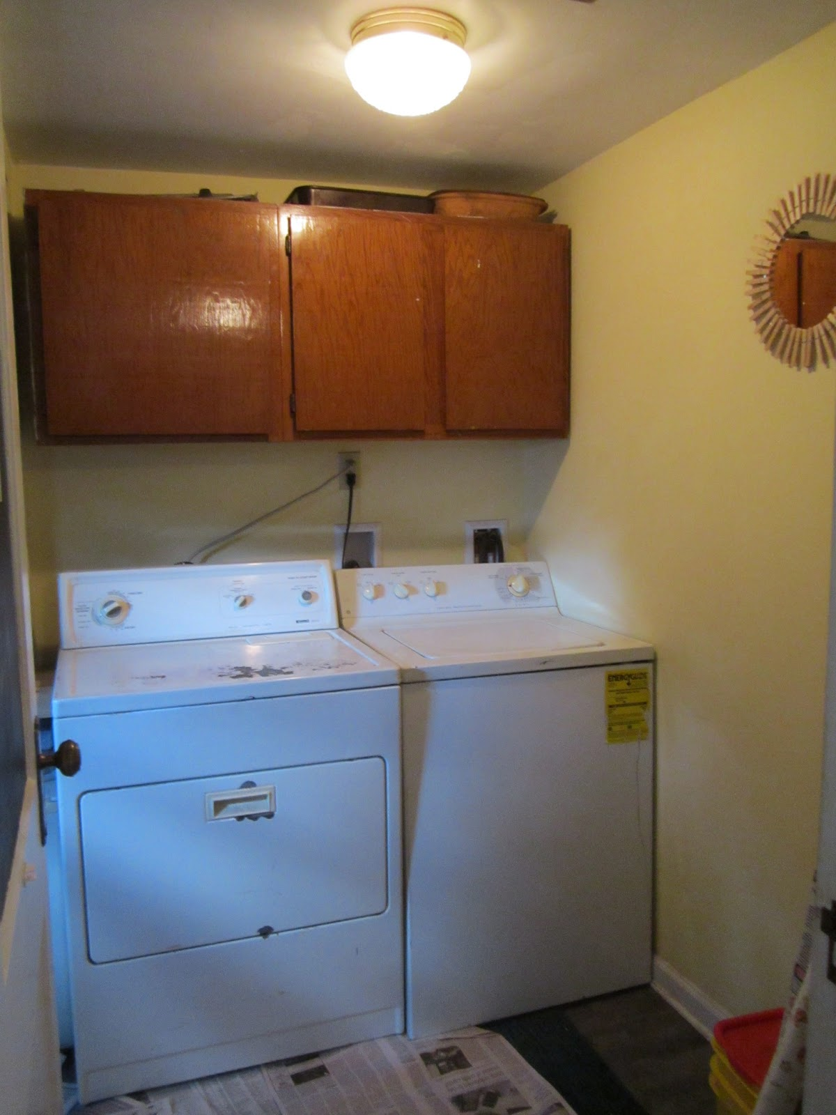 Little Old House: Three of Three: Laundry Room