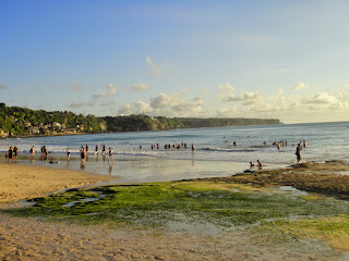 Dreamland Beach Bali Island Indonesia