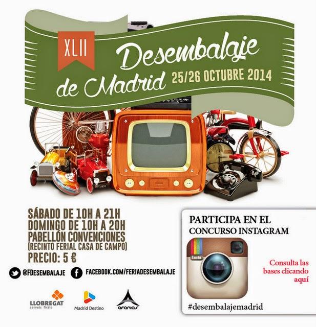 Feria desembalaje la fiesta del vintage aterriza en madrid este fin de semana etxekodeco - Recinto ferial casa de campo madrid ...