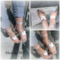 Barefeet-Barefoot-Blotevoeten slippers