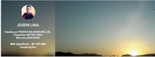 Google+ JOSENI LIMA - 87.187.050 visualizações (02/06/16))