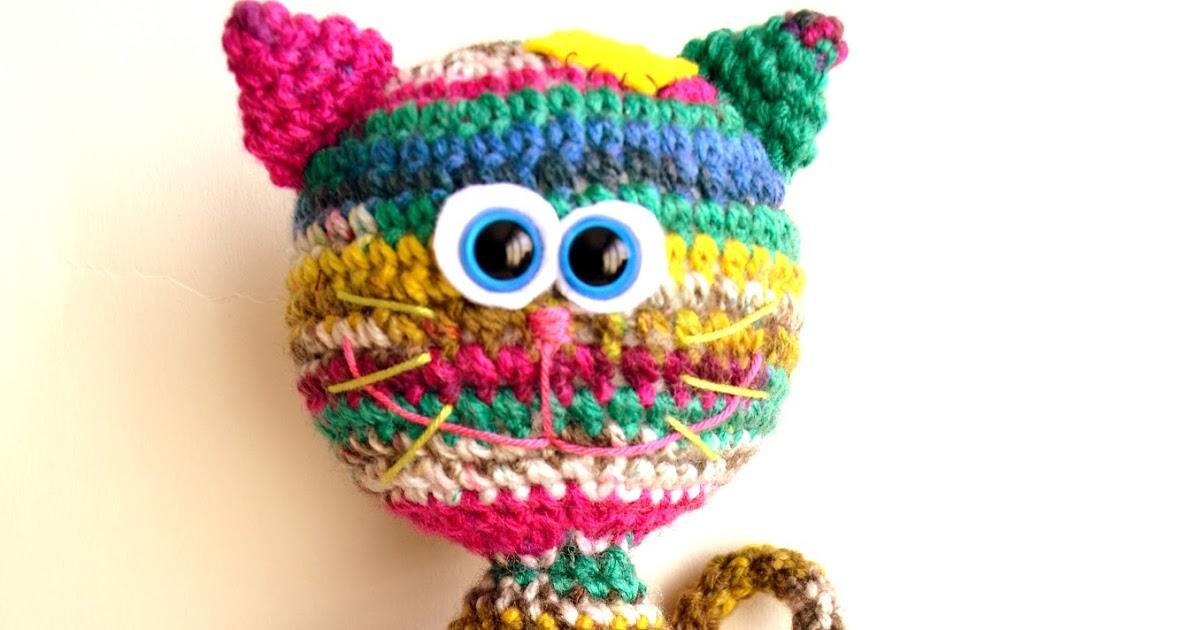 Amigurumi Yarn Size : AllSoCute Amigurumis: Amigurumi Cat, Kitten Pattern