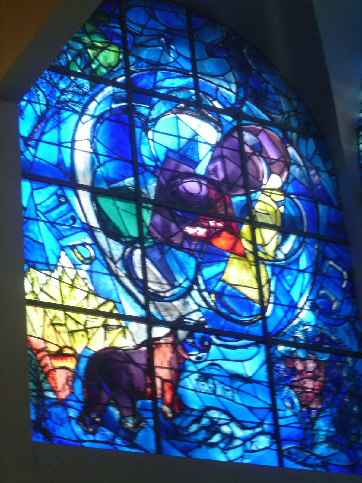 Chagall Windows Hadassah Chagall Hadassah Windows