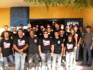 Delegacias paradas e 100% de adesão no sertão durante 24h de mobilização da Polícia Civil de Pernambuco