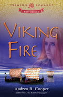 Book Cover  Viking Fire