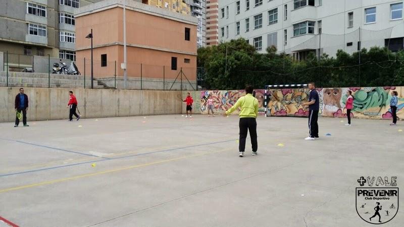 deporte para niños speed badminton