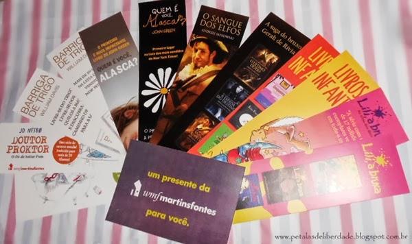 marcadores de página, Editora WMF Martins Fontes, quem é você alaska
