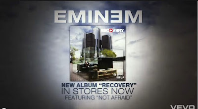 Eminem Not Afraid New Album Recovery