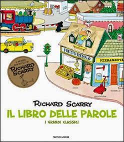 Lachiocciola bricolage educativi il libro delle parole di richard scarry - Il giardino delle parole libro ...