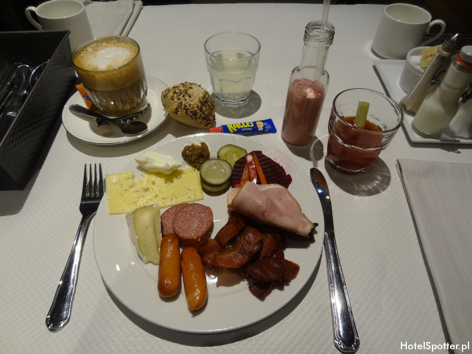 Radisson Blu Strand Hotel, Stockholm - sniadanie moje