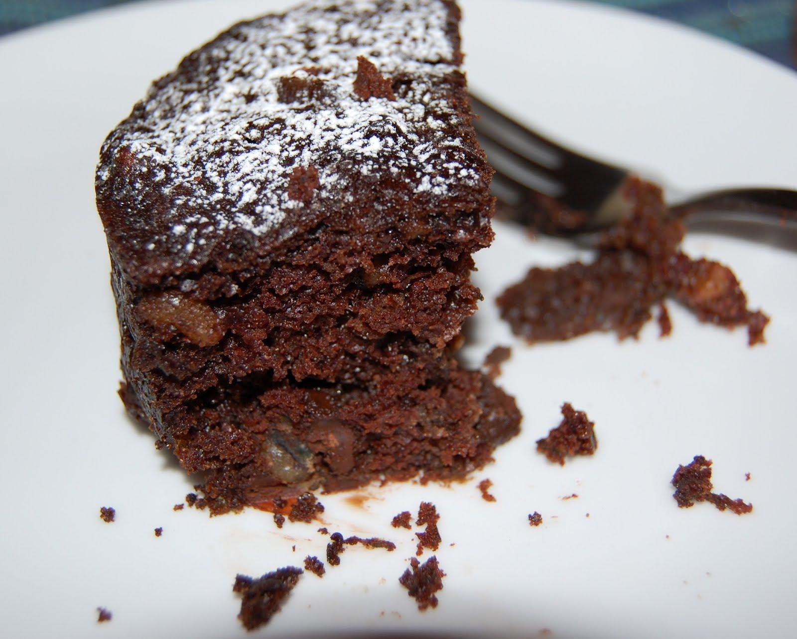 KnitOne,PearlOnion: Chocolate Zucchini Cake