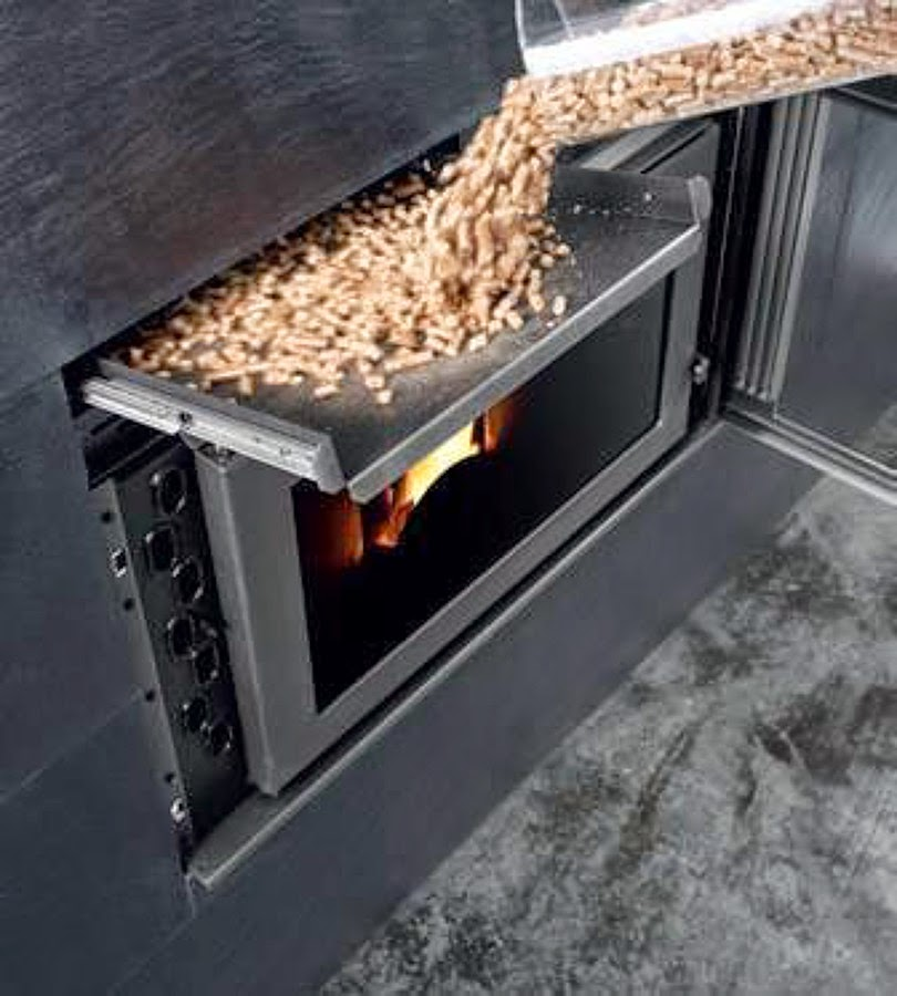Madera de pinares biomasa y energ a venta de pellets - Chimeneas de biocombustible ...