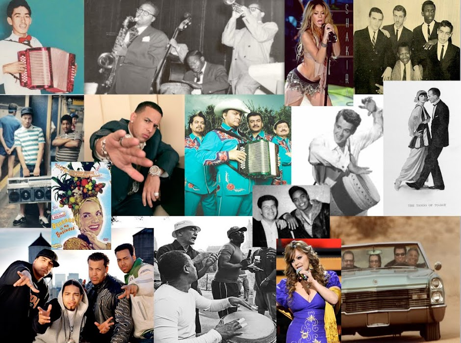 Pop Music and Culture: CuBop, Up-Rock, Boogaloo and Banda. Latinos Making Music in the United State