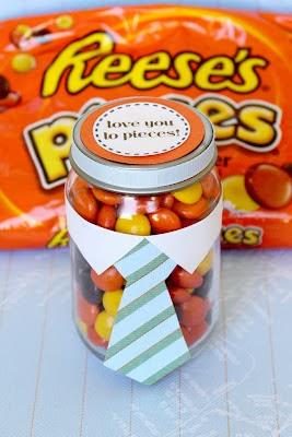 Caramelos para el día del padre en Recicla Inventa