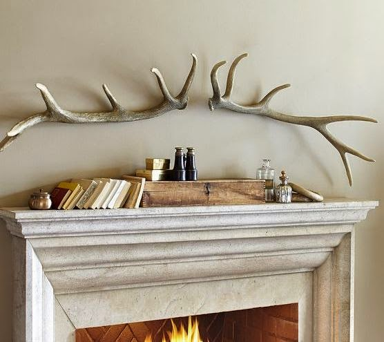 Pottery Barn Antlers