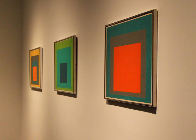 Homage to the Square, by Joseph Albers, LACMA, Los Angeles County Museum of Art