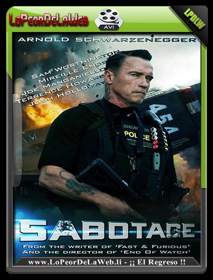 Sabotage (2014) DVDRip Latino [MG] [FC]