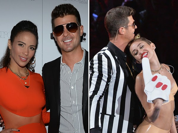 Robin Thicke and Paula Patton Getting Divorced