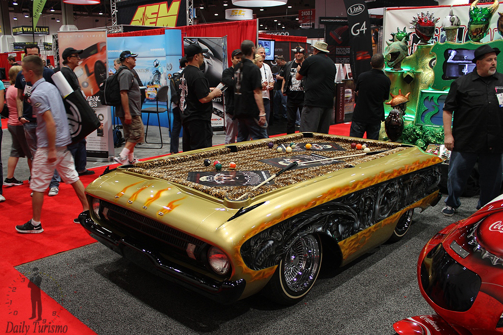 Counting Cars Ranchero To Pool Table Ford Muscle Forums Ford - Car pool table