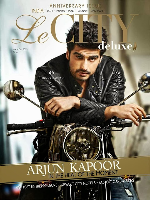 Arjun Kapoor photoshoot forr Le CITY deluxe INDIA magazine anniversary issue