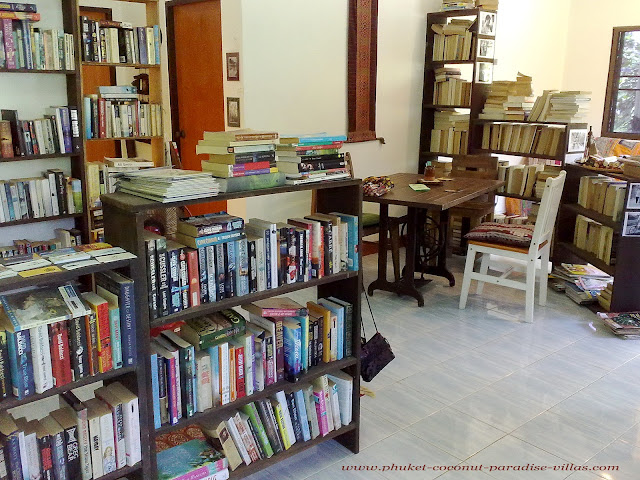 Second Hand Book shops in Phuket