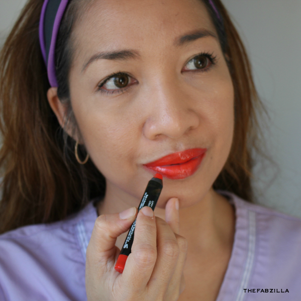 summer bright lips, summer bright nails, summer must-haves, Butter London Lippy Bloody Brilliant Lip Crayon, Ladybird, Butter London Nail Lacquer Ladybird, Butter London Iconoclast Mega Volume Lacquer, Butter London Wink Eye Pencil Crayon, Review, Swatch, summer beauty trend