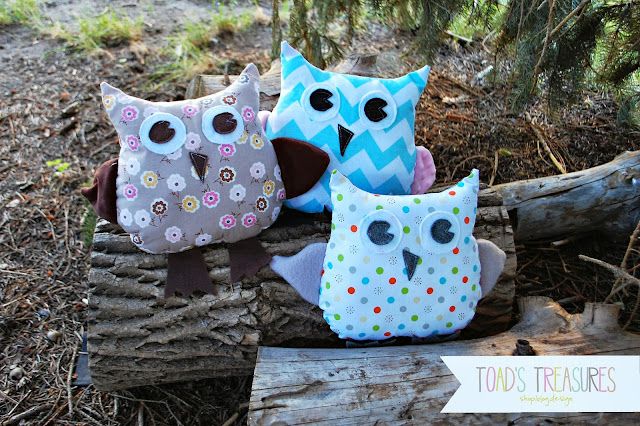 easy pillow pattern owl