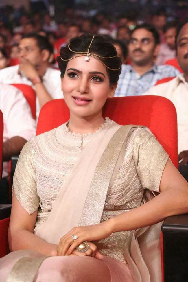 Samantha at 'Alludu Seenu' Telugu Movie Audio Launch